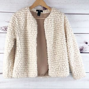 S96 fluffy sweater cardigan,